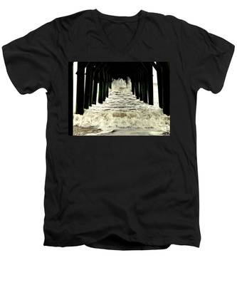 Tunnel Vision Men's V-Neck T-Shirt