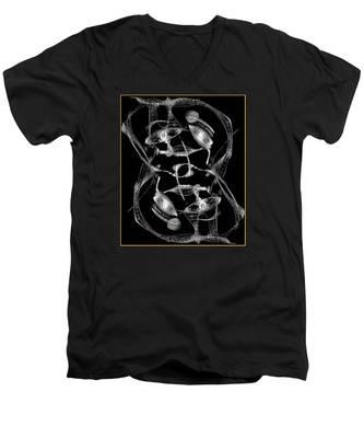 Twisted Me Men's V-Neck T-Shirt