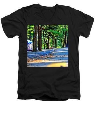 Unknown Destination Men's V-Neck T-Shirt