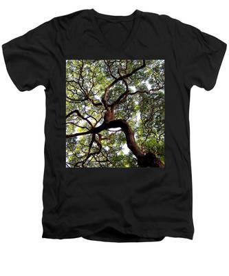 Veins Of Life Men's V-Neck T-Shirt