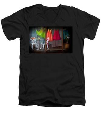 When A Woman Dreams Men's V-Neck T-Shirt