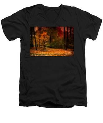 Youth Men's V-Neck T-Shirt