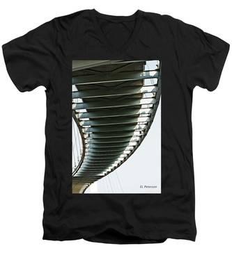 Bob Kerrey Pedestrian Bridge Men's V-Neck T-Shirt