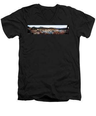 Port Of Soller Men's V-Neck T-Shirt