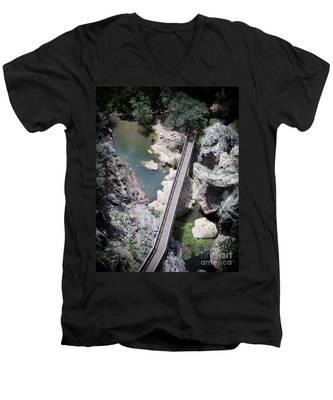 The Foot Bridge Men's V-Neck T-Shirt