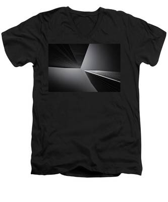 The Tricorn Towers Men's V-Neck T-Shirt