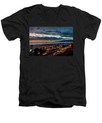 After The Storm And Rain  Men's V-Neck T-Shirt