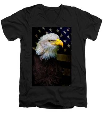 An American Icon Men's V-Neck T-Shirt