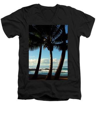 Blue Palms Men's V-Neck T-Shirt
