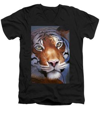 Cat And Mouse Men's V-Neck T-Shirt