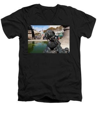 Cherub Men's V-Neck T-Shirt