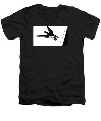 Chrysler Eagle Mascot Men's V-Neck T-Shirt