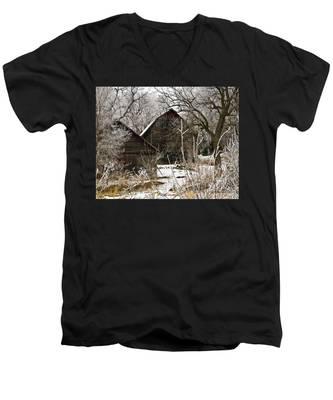 Days Gone Bye Men's V-Neck T-Shirt
