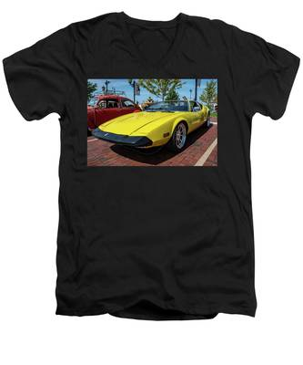 De Tomaso Pantera Men's V-Neck T-Shirt