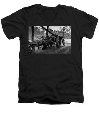 Farming Equipment Men's V-Neck T-Shirt