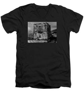Men's V-Neck T-Shirt featuring the photograph Fine Art Back And White234 by Joseph Amaral