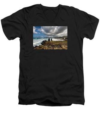 Men's V-Neck T-Shirt featuring the photograph Fine Art Colour-173 by Joseph Amaral