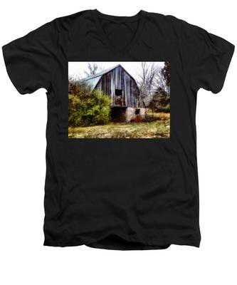 Gray Barn Men's V-Neck T-Shirt