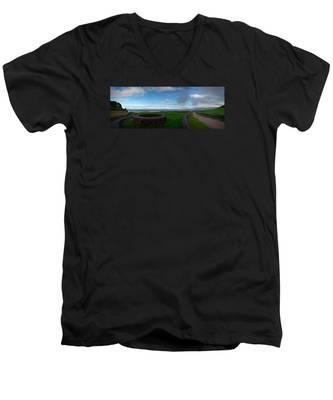 Landscapespanoramas019 Men's V-Neck T-Shirt by Joseph Amaral