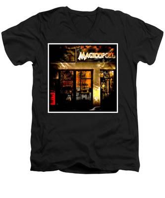 Magicopolis Window Men's V-Neck T-Shirt