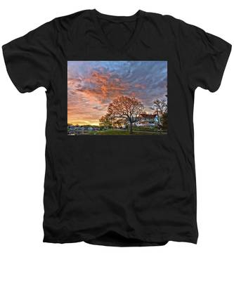 Morning Sky Men's V-Neck T-Shirt