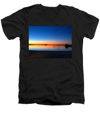 Night Fall Men's V-Neck T-Shirt