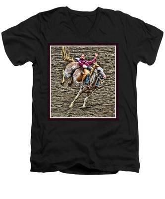 Ride Em Cowboy Men's V-Neck T-Shirt