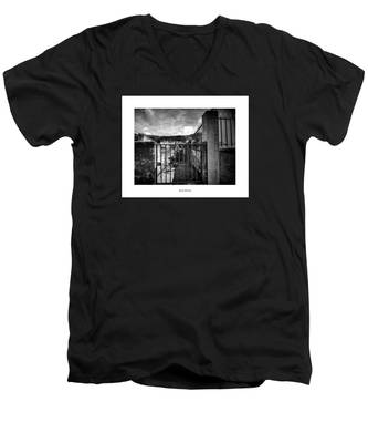 Men's V-Neck T-Shirt featuring the photograph Royal Orleans by Joseph Amaral
