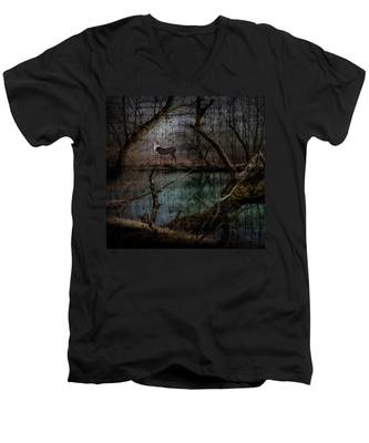Silent Forest Men's V-Neck T-Shirt