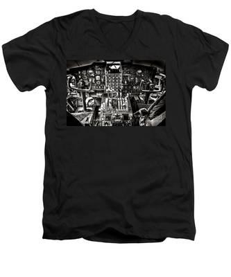 The Cockpit Men's V-Neck T-Shirt
