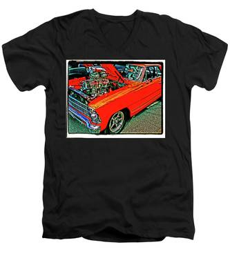 Classic Chevy Men's V-Neck T-Shirt