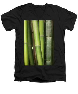 Bamboo Stalk 4057 Men's V-Neck T-Shirt