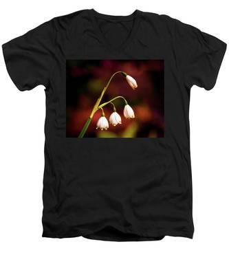 Beautiful Bells Men's V-Neck T-Shirt