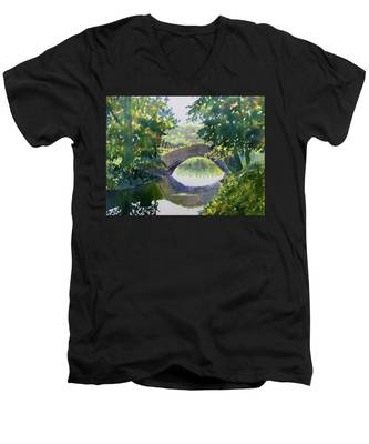 Bridge Over Gypsy Race Men's V-Neck T-Shirt