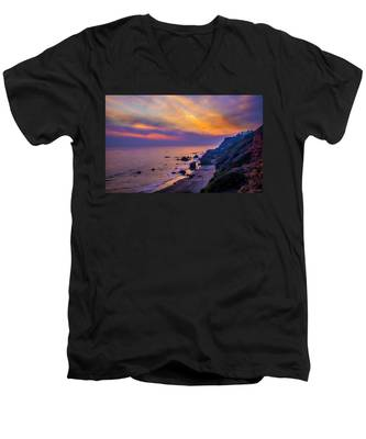 El Matador Sunset Men's V-Neck T-Shirt