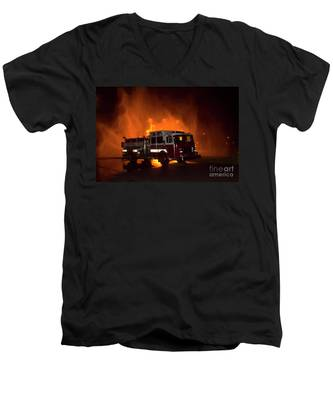 Engine 2 Men's V-Neck T-Shirt