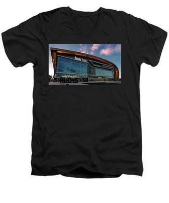 Fiserv.forum Men's V-Neck T-Shirt