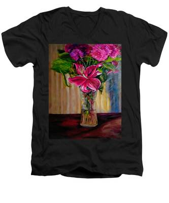 Fragrance Filled The Room Men's V-Neck T-Shirt