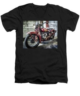 Indian Motorcycle Men's V-Neck T-Shirt