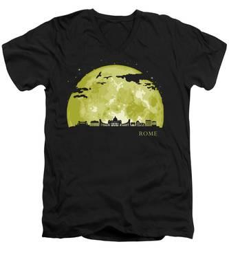 Italy V-Neck T-Shirts