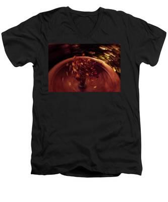 Spin Men's V-Neck T-Shirt