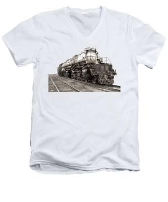 4884 Big Boy Men's V-Neck T-Shirt