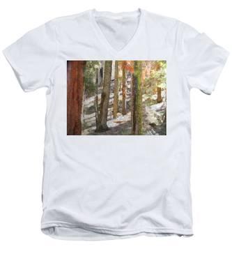 Forest For The Trees Men's V-Neck T-Shirt