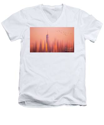 Towards Freedom Men's V-Neck T-Shirt