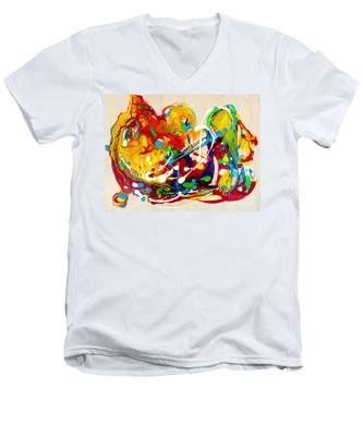 Plenty Of Gifts For Everybody Men's V-Neck T-Shirt