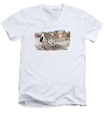Raven Roost Men's V-Neck T-Shirt