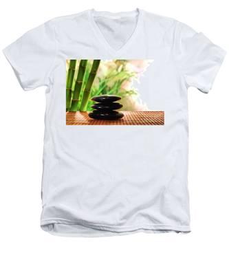 Stone Cairn Men's V-Neck T-Shirt