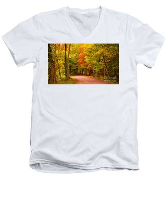 Take Me To The Forest Men's V-Neck T-Shirt