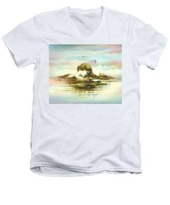 The Island Men's V-Neck T-Shirt