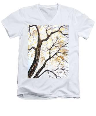 Tree Men's V-Neck T-Shirt